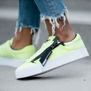 Women's Adidas Sambarose Zip Sneakers Size 7 NWT